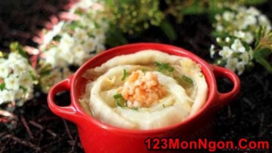 Cách làm canh cải thảo nấu tôm thơm ngọt thanh mát quá ngon 123monngon: Món ngon mỗi ngày - Mẹo vặt nội trợ - Địa điểm ăn uống