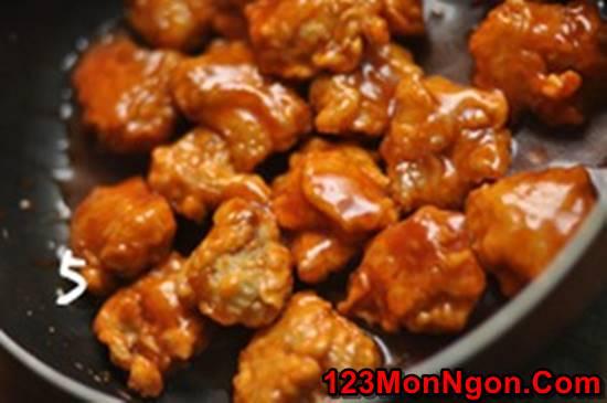 Cách làm cánh gà chiên giòn sốt dứa chua ngọt thật ngon ăn hoài không ngán phần 14