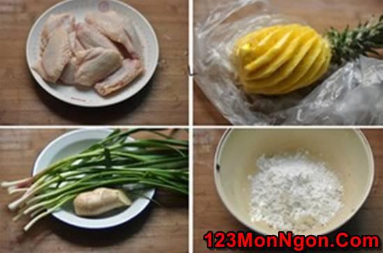 Cách làm cánh gà chiên giòn sốt dứa chua ngọt thật ngon ăn hoài không ngán phần 2