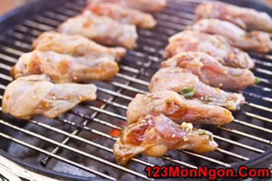 Cách làm cánh gà nướng BBQ thơm lừng cực hấp dẫn ngon miệng cho ngày cuối tuần phần 5