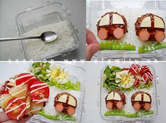 Cách làm cơm trưa Bento thơm ngon lạ miệng đủ chất cho mẹ và bé phần 8