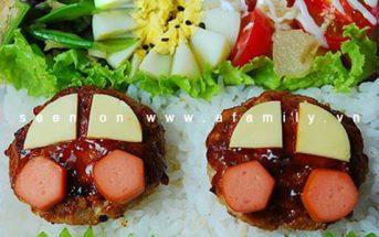 Cách làm cơm trưa Bento thơm ngon lạ miệng đủ chất cho mẹ và bé