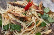 Cách làm gỏi đu đủ khô cá lóc thơm giòn thật ngon nhâm nhi cuối tuần