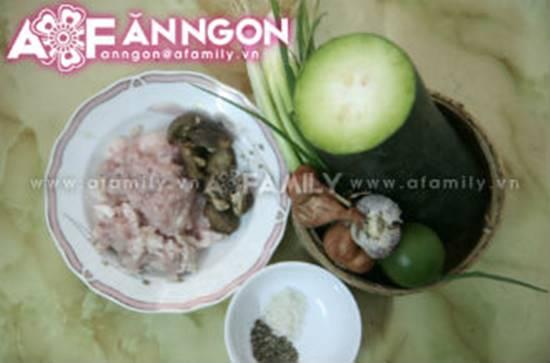 Cách làm món bí xanh cuộn thịt hấp đơn giản mà thơm ngon hấp dẫn phần 1
