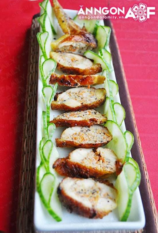 Cách làm món cánh gà rút xương mềm thơm hấp dẫn ngon mà dễ thực hiện phần 11