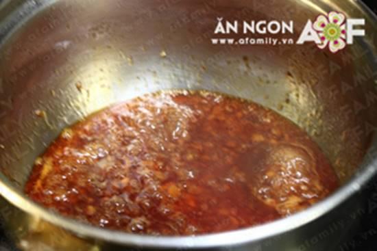 Cách làm món đậu hũ nhồi tôm thịt sốt chua ngọt đẹp mắt ngon cơm phần 13
