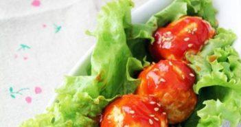 Cách làm món gà viên sốt cà chua ngọt đậm đà cực ngon rất đưa cơm