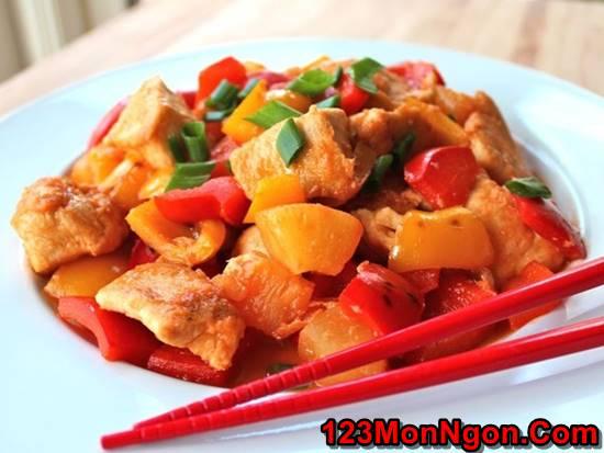 Cách làm món gà xào chua ngọt đơn giản mà thơm ngon đậm đà đưa cơm phần 1