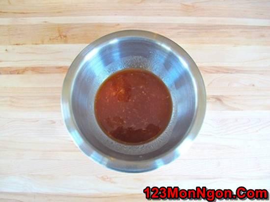Cách làm món gà xào chua ngọt đơn giản mà thơm ngon đậm đà đưa cơm phần 3