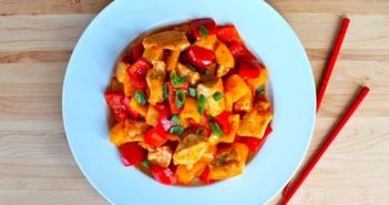 Cách làm món gà xào chua ngọt đơn giản mà thơm ngon đậm đà đưa cơm