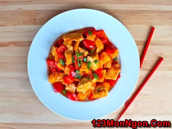 Cách làm món gà xào chua ngọt đơn giản mà thơm ngon đậm đà đưa cơm phần 7