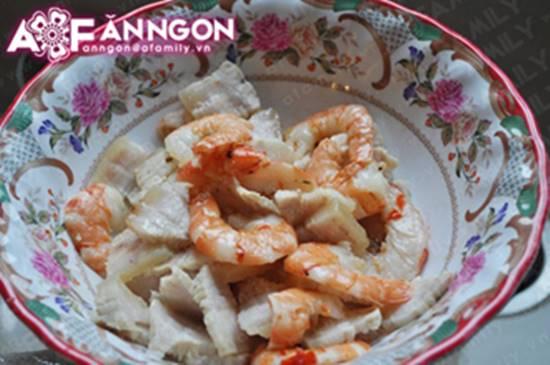Cách làm món gỏi măng tôm thịt chua ngọt thơm ngon chống ngán ngày Tết phần 12