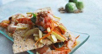 Cách làm món gỏi măng tôm thịt chua ngọt thơm ngon chống ngán ngày Tết