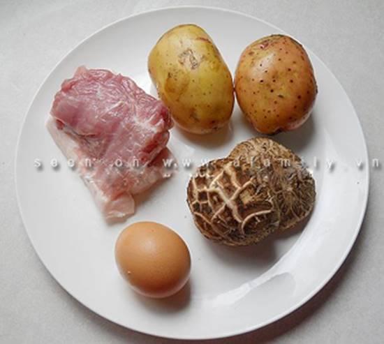 Cách làm món khoai tây nhân thịt nướng thơm ngon dẻo bùi cho các bé phần 1