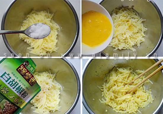 Cách làm món khoai tây nhân thịt nướng thơm ngon dẻo bùi cho các bé phần 7