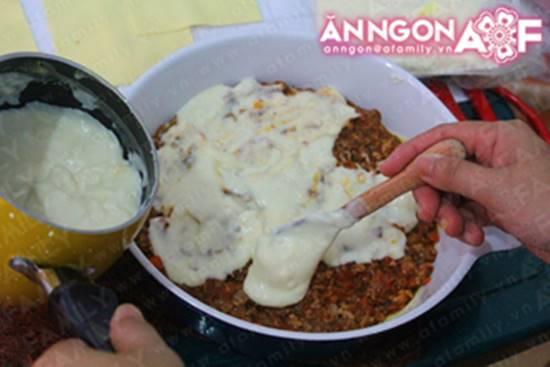 Cách làm món Lasagna đặc biệt thơm ngon hấp dẫn từ nước Ý phần 18