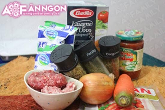 Cách làm món Lasagna đặc biệt thơm ngon hấp dẫn từ nước Ý phần 2