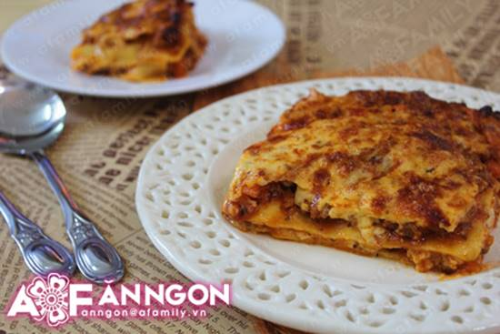 Cách làm món Lasagna đặc biệt thơm ngon hấp dẫn từ nước Ý phần 21