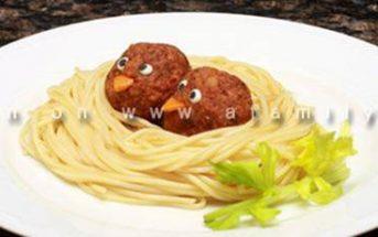 Cách làm món mì ý thịt viên hình tổ chim đẹp mắt hấp dẫn thơm ngon cho bé