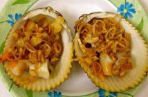 Cách làm món sò dương nướng mỡ hành đơn giản thơm lừng cực ngon