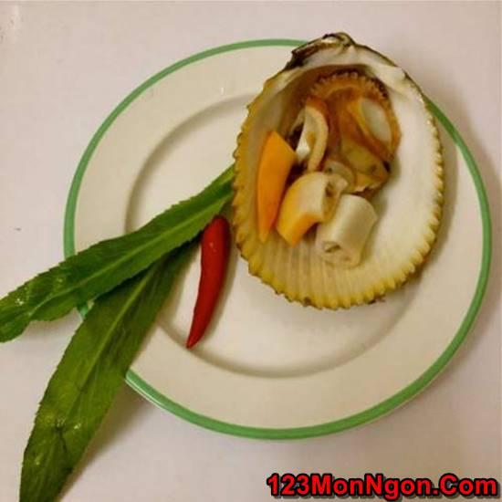 Cách làm món sò dương nướng mỡ hành đơn giản thơm lừng cực ngon phần 4