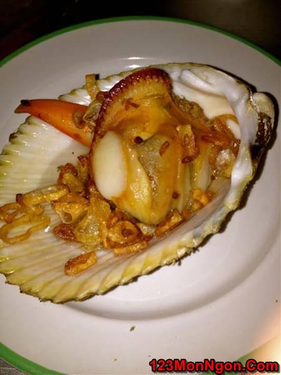 Cách làm món sò dương nướng mỡ hành đơn giản thơm lừng cực ngon phần 7