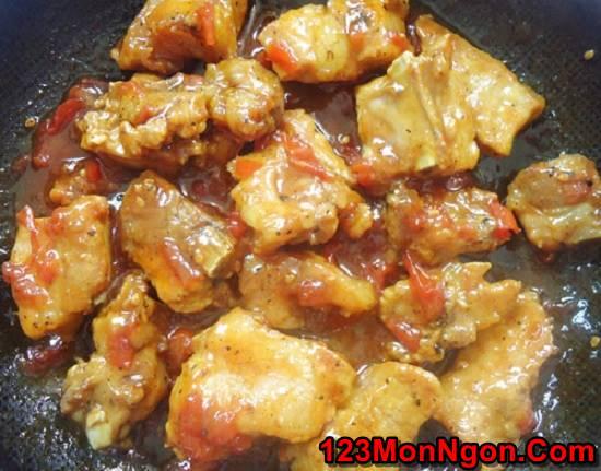 Cách làm món sườn sốt me chua ngọt ngon cơm ăn hoài không ngán phần 3