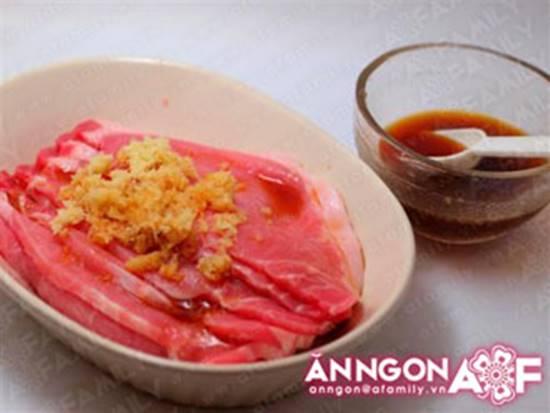 Cách làm món thịt chiên gừng kiểu Nhật thơm lừng ngon miệng rất đưa cơm phần 5