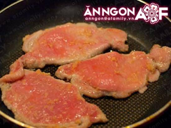 Cách làm món thịt chiên gừng kiểu Nhật thơm lừng ngon miệng rất đưa cơm phần 7
