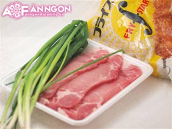 Cách làm món thịt heo chiên giòn tẩm hành mỡ thơm lừng cực ngon phần 2