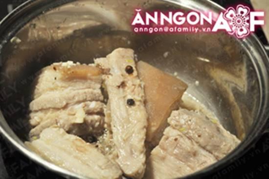 Cách làm món thịt heo ngâm mắm đậm đà thơm ngon nhâm nhi ngày Tết phần 4