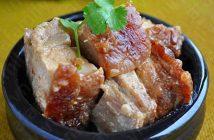 Cách làm món thịt heo quay kho chao đậm đà thơm ngon đưa cơm ngày lạnh