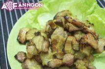 Cách làm món thịt nướng riềng mẻ thơm lừng cực ngon ăn là ghiền