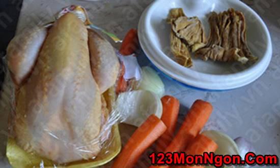 Cách nấu bún măng gà đậm đà thơm ngon khó cưỡng cho bữa sáng phần 2