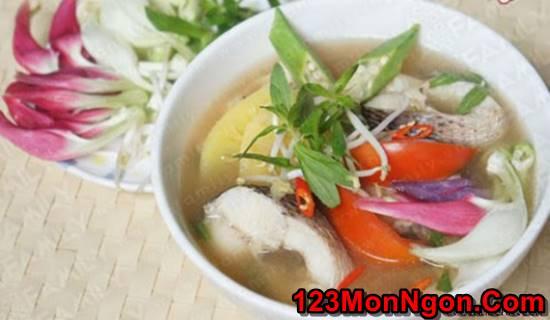 Cách nấu canh chua cá lóc đậm đà ngon tuyệt đúng vị miền Nam phần 1