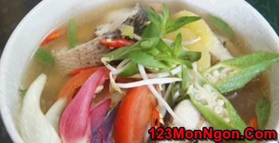 Cách nấu canh chua cá lóc đậm đà ngon tuyệt đúng vị miền Nam phần 15