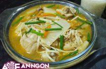 Cách nấu canh kim chi thịt gà chua cay thơm nồng cực ngon cho ngày se lạnh