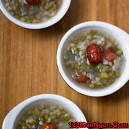 Cách nấu chè đậu xanh nha đam thanh mát thơm ngọt cực ngon phần 1