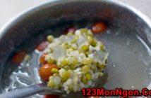 Cách nấu chè đậu xanh nha đam thanh mát thơm ngọt cực ngon
