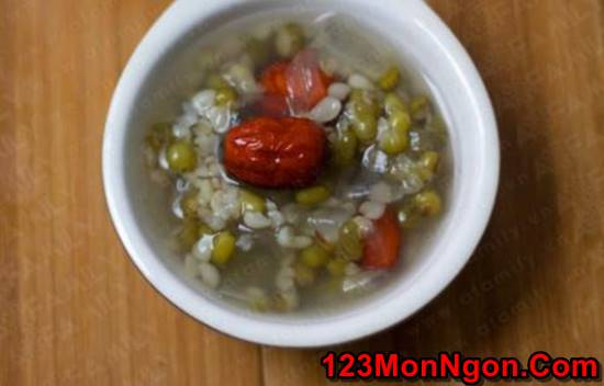 Cách nấu chè đậu xanh nha đam thanh mát thơm ngọt cực ngon phần 9