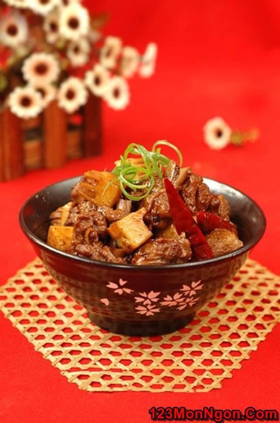 Cách nấu thịt vịt kho măng đậm đà thơm lừng cực ngon miệng đưa cơm phần 1