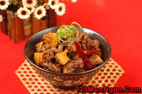 Cách nấu thịt vịt kho măng đậm đà thơm lừng cực ngon miệng đưa cơm phần 10