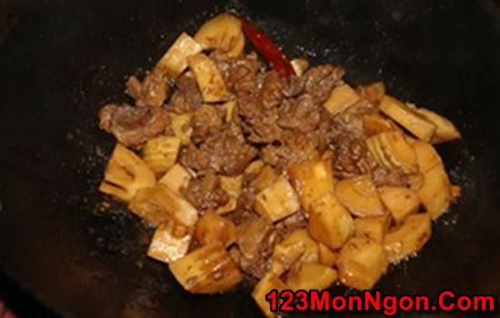 Cách nấu thịt vịt kho măng đậm đà thơm lừng cực ngon miệng đưa cơm phần 9