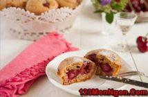 Cách làm bánh muffin cherry thơm ngon tuyệt vời đãi cả nhà thưởng thức