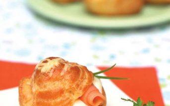 Cách làm bánh su mặn cá hồi thơm ngon hấp dẫn cho bữa sáng