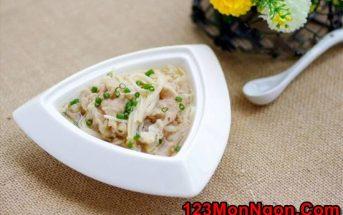 Cách làm canh thịt nấu nấm thơm ngon bổ dưỡng cho ngày lạnh