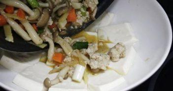 Cách làm đậu phụ non sốt thịt băm mềm thơm hấp dẫn ngon cơm