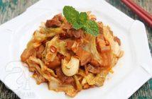 Cách làm món bắp cải xào thịt ba chỉ lạ miệng thơm ngon cho bữa cơm tối