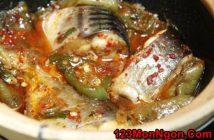 Cách làm món cá basa kho ớt xanh thơm nồng đậm đà cực ngon miệng