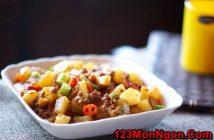 Cách làm món củ cải xào thịt băm đơn giản đậm đà ngon cơm